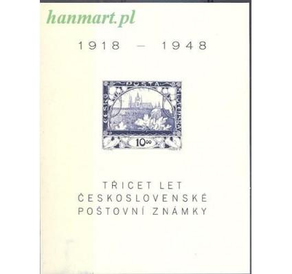 Znaczek Czechosłowacja 1948 Mi bl 11 Czyste **