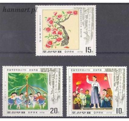 Znaczek Korea Północna 1978 Mi 1715-1717 Czyste **