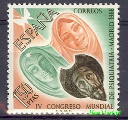 Znaczek Hiszpania 1966 Mi 1635 Czyste **