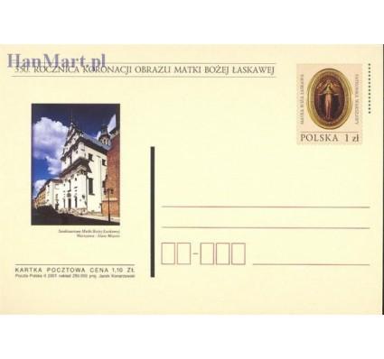 Znaczek Polska 2001 Fi Cp 1245 Całostka pocztowa