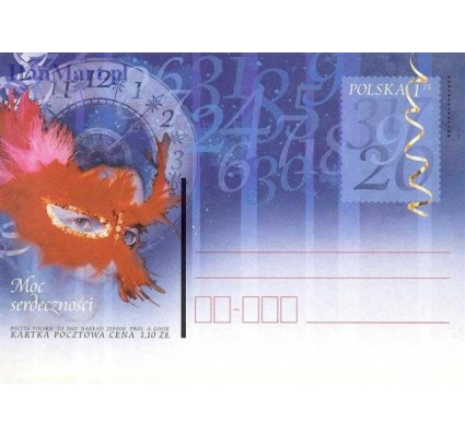 Znaczek Polska 2001 Fi Cp 1248-1253 Całostka pocztowa