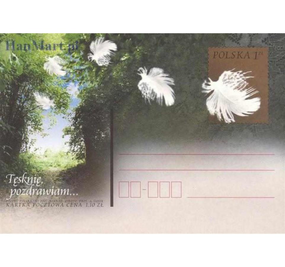 Polska 2001 Fi Cp 1248-1253 Całostka pocztowa