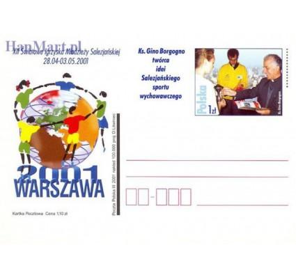 Znaczek Polska 2001 Fi Cp 1254 Całostka pocztowa