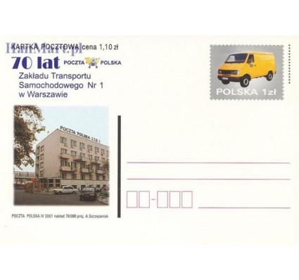 Znaczek Polska 2001 Fi Cp 1255 Całostka pocztowa