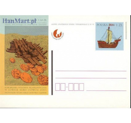 Polska 2001 Fi Cp 1265 Całostka pocztowa