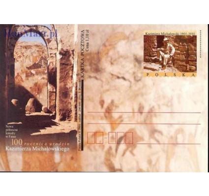 Znaczek Polska 2001 Fi Cp 1270 Całostka pocztowa
