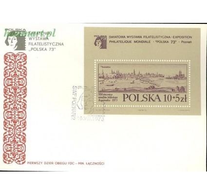 Znaczek Polska 1973 Mi bl 55 Fi bl 91a FDC