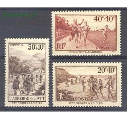 Znaczek Francja 1937 Mi 348-350 Czyste **