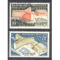 Francja 1958 Mi 1214-1215 Czyste **