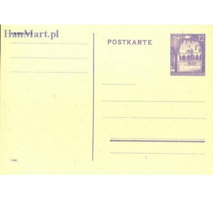 Znaczek Generalna Gubernia / GG 1942 Całostka pocztowa