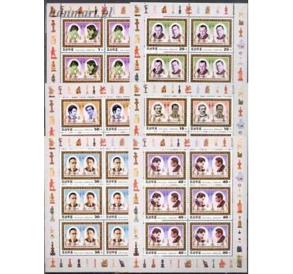 Znaczek Korea Północna 2001 Mi 4412-4417 Czyste **
