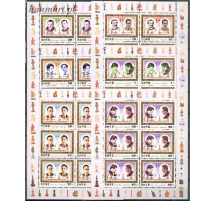 Znaczek Korea Północna 2001 Mi 4442-4447 Czyste **