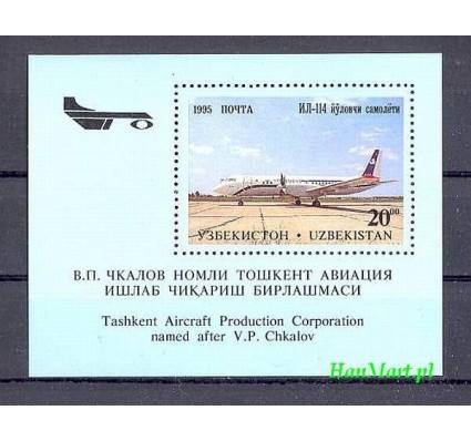 Uzbekistan 1995 Mi bl 8 Czyste **