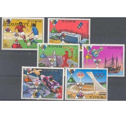 Znaczek Korea Północna 1976 Mi 1523-1529 Czyste **