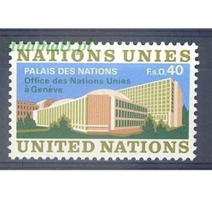 Znaczek Narody Zjednoczone Genewa 1972 Mi 22 Czyste **