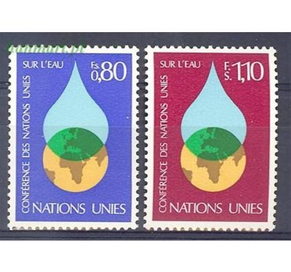 Znaczek Narody Zjednoczone Genewa 1977 Mi 64-65 Czyste **