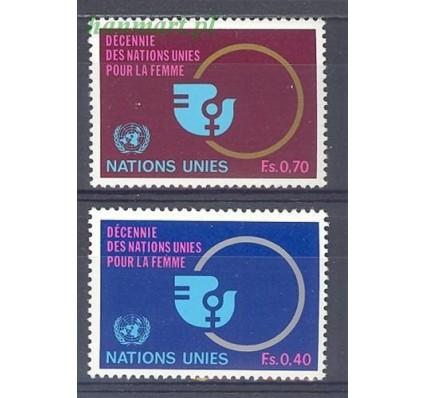 Znaczek Narody Zjednoczone Genewa 1980 Mi 89-90 Czyste **