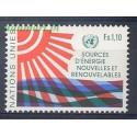 Narody Zjednoczone Genewa 1981 Mi 100 Czyste **