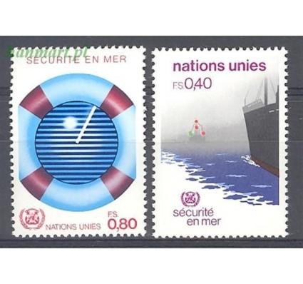 Znaczek Narody Zjednoczone Genewa 1983 Mi 112-113 Czyste **