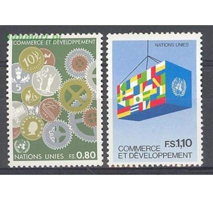 Znaczek Narody Zjednoczone Genewa 1983 Mi 115-116 Czyste **