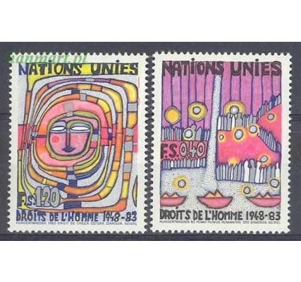 Znaczek Narody Zjednoczone Genewa 1983 Mi 117-118 Czyste **