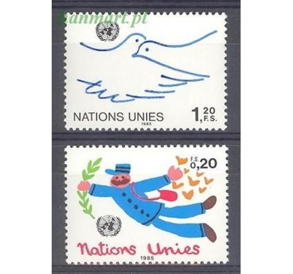Znaczek Narody Zjednoczone Genewa 1985 Mi 131-132 Czyste **