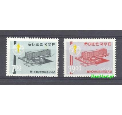 Korea Południowa 1966 Mi 526-527 Czyste **