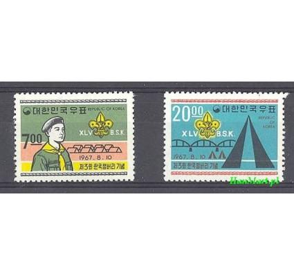 Korea Południowa 1967 Mi 588-589 Czyste **