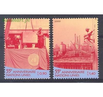 Znaczek Narody Zjednoczone Genewa 2000 Mi 391-392 Czyste **