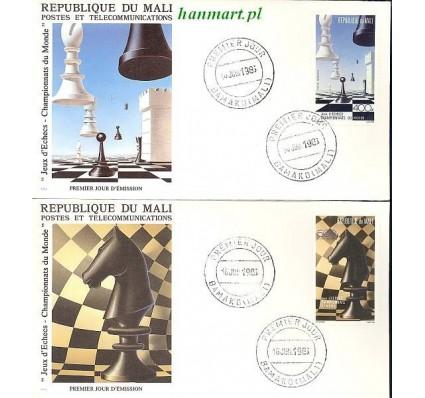 Znaczek Mali 1986 Mi 1073-1074 FDC