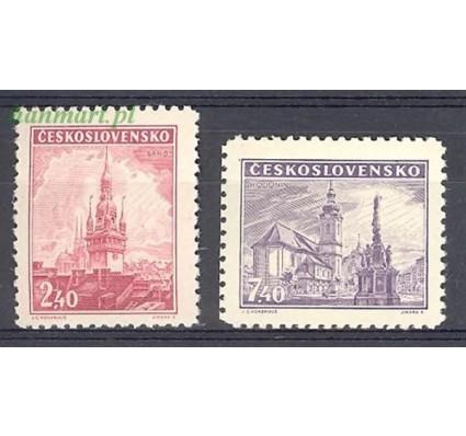 Znaczek Czechosłowacja 1946 Mi 502-503 Czyste **
