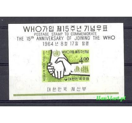 Korea Południowa 1964 Mi bl 192 Czyste **