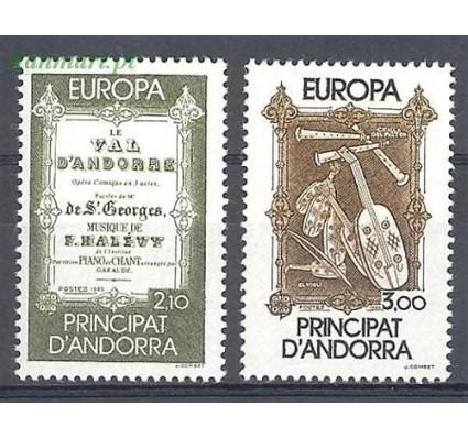 Znaczek Andora Francuska 1985 Mi 360-361 Czyste **
