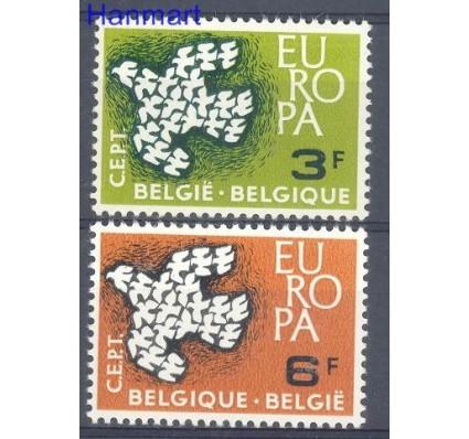 Znaczek Belgia 1961 Mi 1253-1254 Czyste **