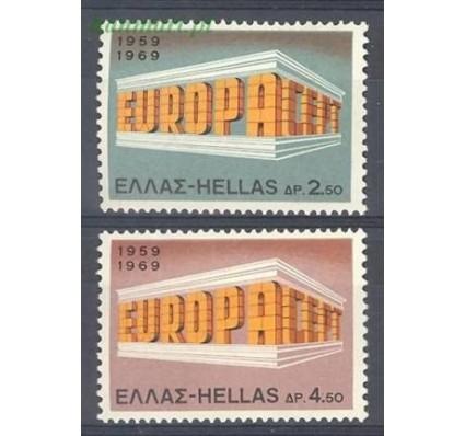 Znaczek Grecja 1969 Mi 1004-1005 Czyste **