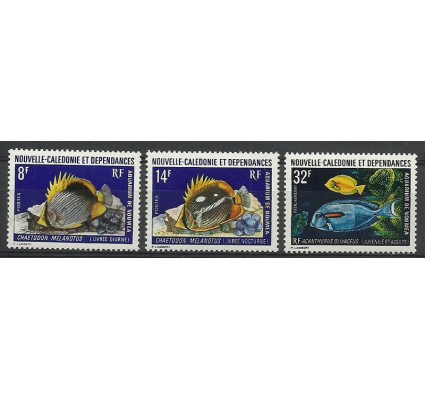 Nowa Kaledonia 1973 Mi 538-540 Czyste **