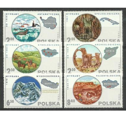 Polska 1980 Mi 2686-2691 Fi 2538-2543 Czyste **