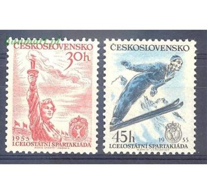 Znaczek Czechosłowacja 1955 Mi 890-891 Czyste **
