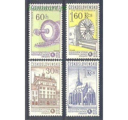 Znaczek Czechosłowacja 1959 Mi 1133-1136 Czyste **