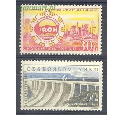 Znaczek Czechosłowacja 1959 Mi 1137-1138 Czyste **