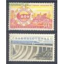 Czechosłowacja 1959 Mi 1137-1138 Czyste **