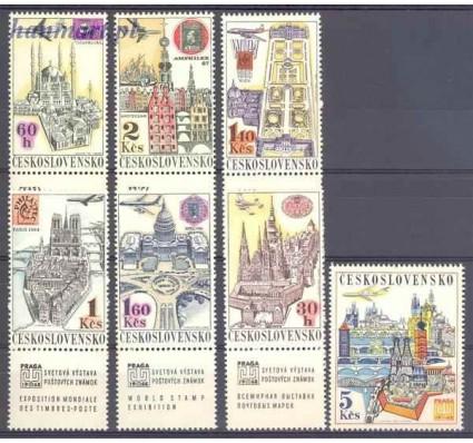 Znaczek Czechosłowacja 1967 Mi zf 1738-1743+1744 Czyste **