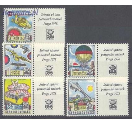 Znaczek Czechosłowacja 1977 Mi zf 2396-2400 Czyste **