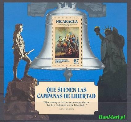 Nikaragua 1975 Mi bl 84 Czyste **