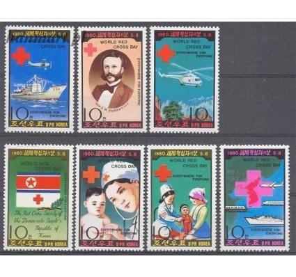 Znaczek Korea Północna 1980 Mi 1976-1982 Czyste **
