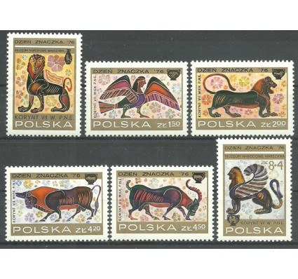 Polska 1976 Mi 2461-2466 Czyste **