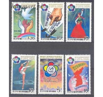 Znaczek Korea Północna 1988 Mi 2918-2923 Czyste **