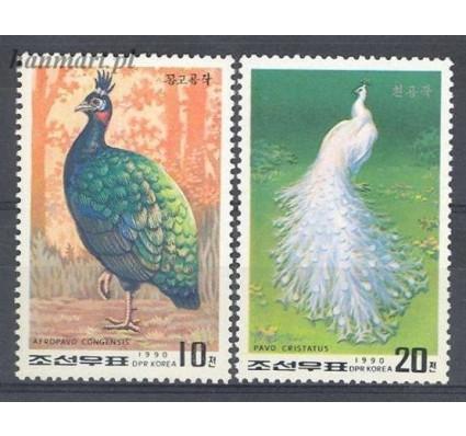 Znaczek Korea Północna 1990 Mi 3104-3105 Czyste **