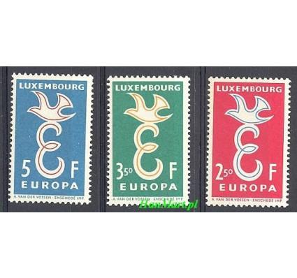 Znaczek Luksemburg 1958 Mi 590-592 Czyste **