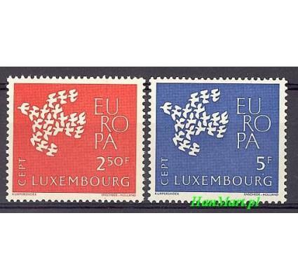 Znaczek Luksemburg 1961 Mi 647-648 Czyste **